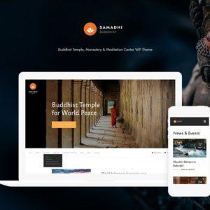 Buddhism & Buddhist Temple WordPress Theme